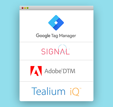 track tags across containers